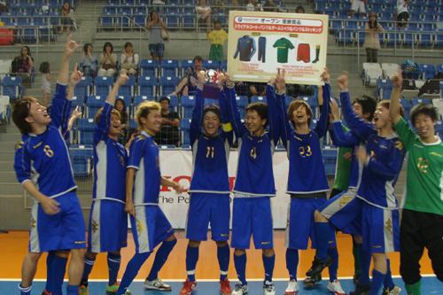 ホンダカップ・フットサルフェスタ2012決勝大会が開催