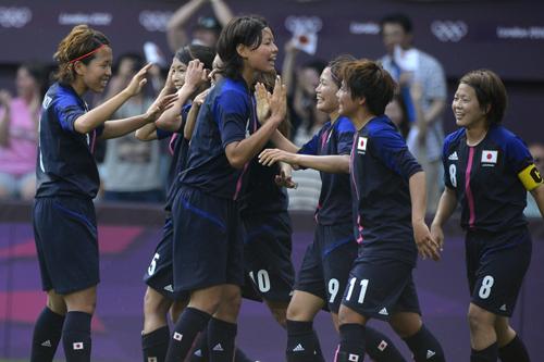 なでしこジャパンの準々決勝進出が決定/ロンドン五輪