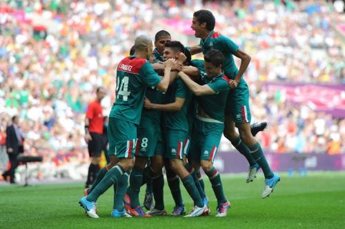 メキシコがブラジルを破り初の金メダル獲得/ロンドン五輪