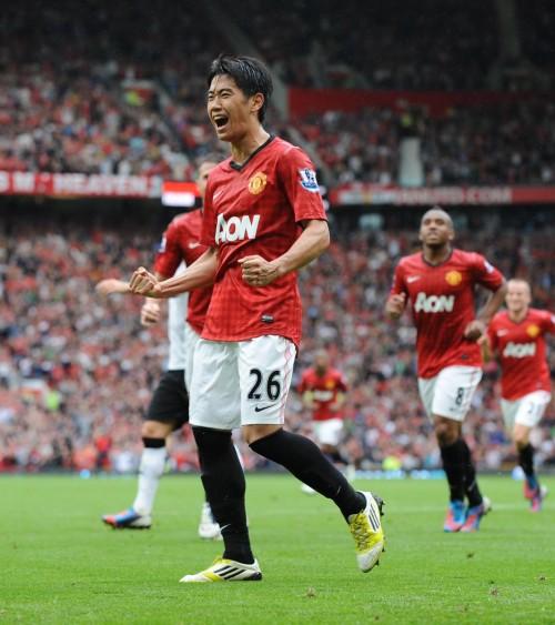 Shinji Kagawa Manchester United 2012/13