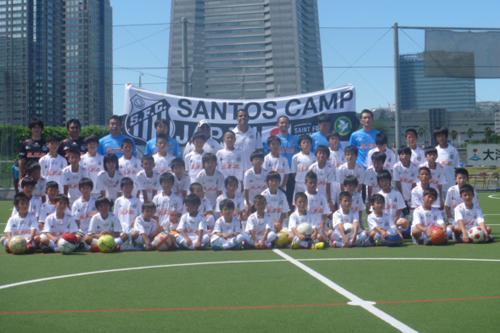 ネイマールを育てたコーチが来日「日本の子供たちは集中力が高い」/サントスキャンプ2012