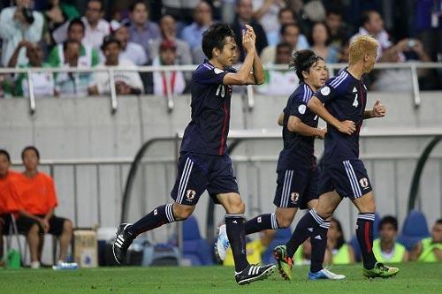 決勝点の前田遼一「最高のパスをくれた岡崎のおかげ」/イラク戦