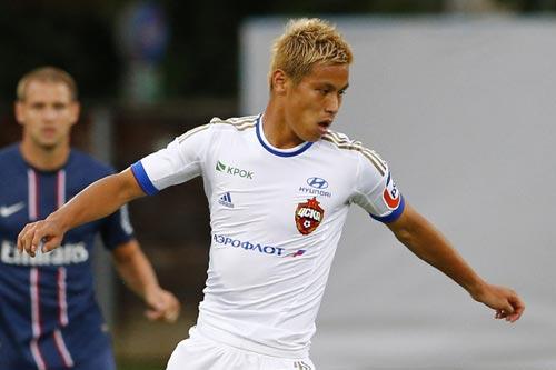 本田のプレミア移籍に英メディアが太鼓判「リーグで戦えるフィジカルを持つ」