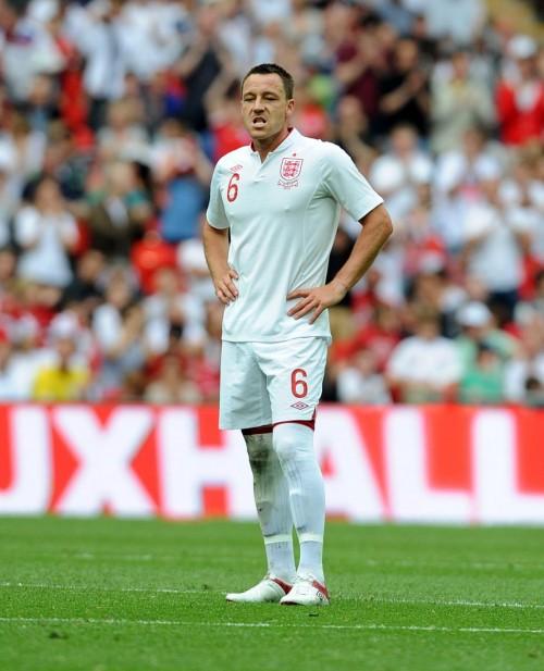 テリーの代表引退でDF不足を強いられるイングランド代表