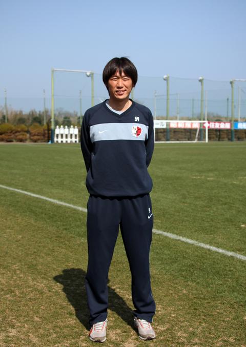 「情熱と夢を持って」 熊谷浩二(鹿島アントラーズユース・コーチ)