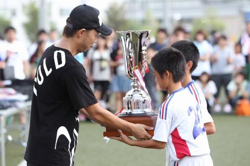 EXILEのUSA「子どもたちの姿から元気をもらえる」/EXILE CUP 2012