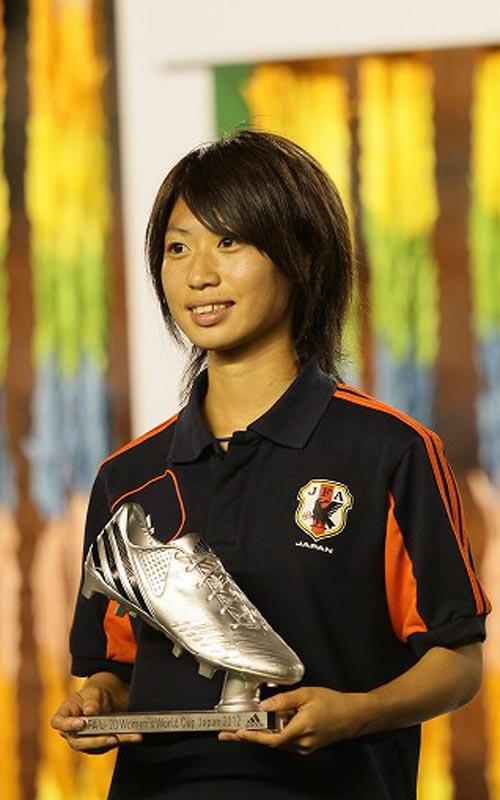 田中陽子がシルバーブーツを受賞…今大会6得点をマーク/U-20女子W杯