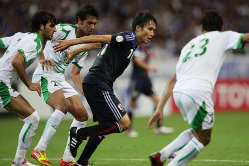 前田遼一「もっとレベルアップして、もっと良いプレーをしたい」/イラク戦