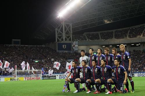 日本が前田のゴールでジーコ率いるイラクに勝利/アジア最終予選