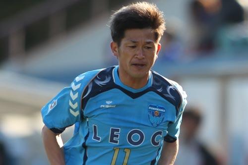 カズがフットサル日本代表候補に初選出…W杯出場へ前進