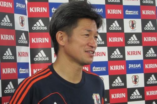横浜FC合流のため代表離脱のカズ「代表の誇りを持って戦ってもらいたい」