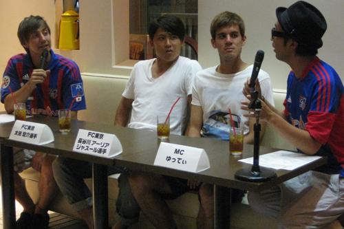 ユーロスポーツの10周年イベントに太田と長谷川が登場「タイトルを獲得したい」