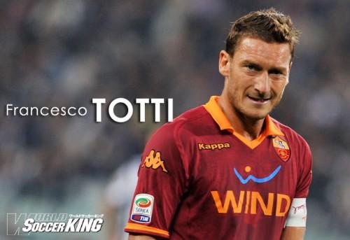 【インタビュー】トッティ(ローマ)「ケガさえしなければあと数年は第一線でサッカーを楽しめるはずだ」