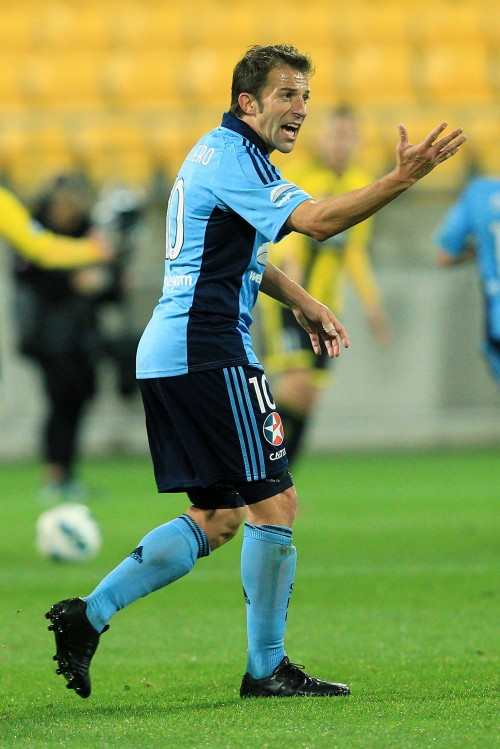デル・ピエロがAリーグデビュー…フル出場するもチームは敗戦