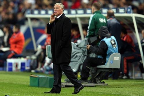 フランスのデシャン監督「点を決められず、最後に罰をくらった」