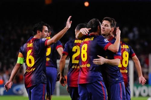 バルセロナがセルティック戦で驚異のボール支配率90%を記録、パス本数は約1000本に