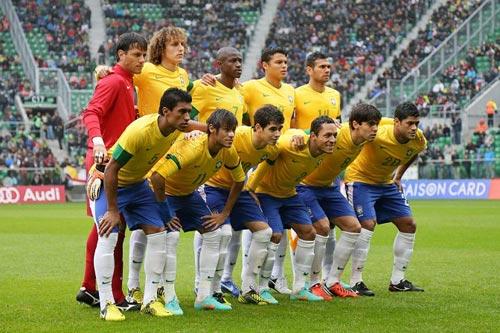 ブラジルがコロンビア戦に臨む代表メンバーを発表…カカ、ネイマールらが選出