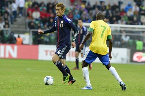 本田圭佑「負け惜しみでなく、点差ほどの差は感じなかった」/ブラジル戦