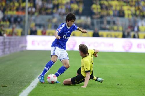 日本人選手は軒並み及第点、リーグ戦最短で交代の清武には低評価…独2大メディア採点