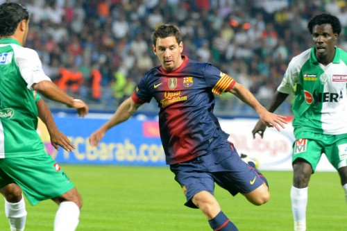 バルセロナのメッシ「世界最高の選手になれるかより、良い人間になれるか心配」