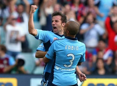 豪移籍後初ゴールのデル・ピエロ「素晴らしい心地。次はチームを勝利に導きたい」