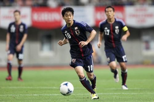 日本代表、本田はフランス戦欠場濃厚で香川が攻撃の軸を担う?