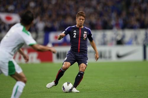 日本代表合宿を負傷離脱の伊野波、左足関節捻挫で全治3週間