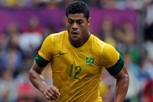 日本と対戦するブラジル代表のフッキ「僕のストロングポイントは適応力」