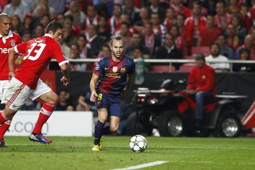 バルサのイニエスタ「バルセロナは成長するための理想のクラブ」