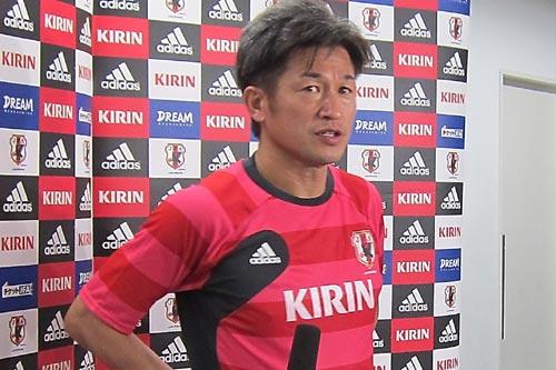 45歳カズ、フットサルW杯の日本代表最終メンバーに選出