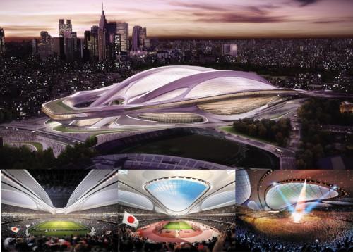 新国立競技場デザインの最優秀賞が決定…現在の競技場は14年7月に解体へ