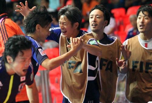 史上初の決勝トーナメント進出を果たしたカズ「フットサル界が一つになって努力してきた証」