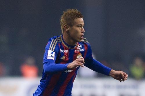 本田圭佑が公式戦2試合連続ゴール…CSKAは3発快勝でカップ戦8強進出