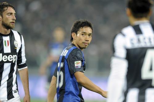 チャリティーマッチ出場選手にインテルの長友が追加/日本プロサッカー選手会
