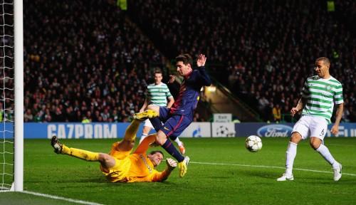 セルティックに敗れたバルセロナのメッシ「まだ1位。心配はしていない」