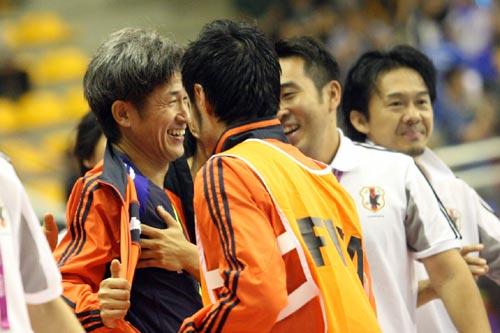 フットサル日本代表のカズ「出番がなくても役割は分かっている」