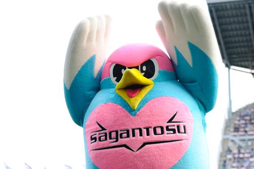 鳥栖がマスコットのウィントスと契約更新「うれしいうぃん!」
