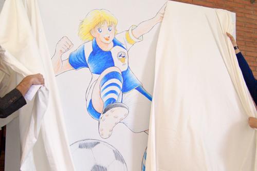 CEサバデルが高橋陽一氏デザインのオリジナルキャラクターを発表…名前は「セスク・ヒロシ」