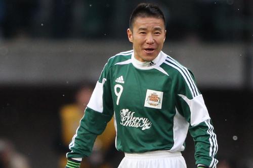 チャリティーマッチ出場選手に札幌の中山雅史が追加/日本プロサッカー選手会