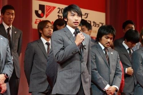 柴崎岳「2年連続で決勝の舞台に立てることを誇らしく思う」/ナビスコカップ前夜祭