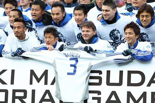 来年1月20日に「松田直樹メモリアル新春ドリームマッチ群馬2013」が開催…中田英寿氏も参加