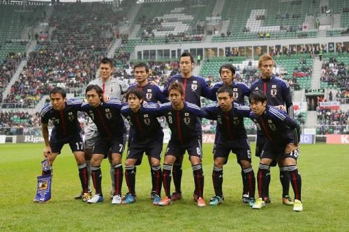 日本代表、来年2月にラトビア代表と対戦が決定