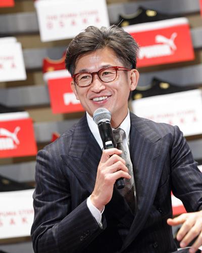 世界最大規模の「プーマストア 大阪」がオープン…カズ、井上真央らがゲストで登場