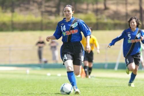 スペランツァFC大阪高槻、なでしこFW丸山との契約延長を発表
