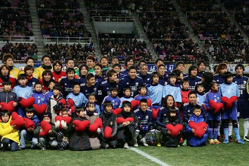 JPFAが「チャリティーサッカー2012」の収支を公表…東日本大震災の被災地に700万円を寄付
