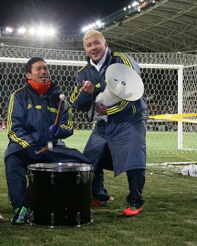 安田理大「気合がサポーターに伝わっていたらうれしい」/チャリティーマッチ