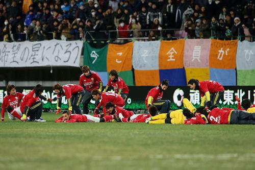 赤嶺真吾「仙台、宮城、東北の星というものを表せたシーズン」/チャリティーマッチ