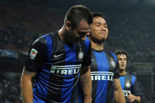 長友がコンフェデ杯に言及「イタリア戦は楽しみ。カッサーノがいれば嬉しい」