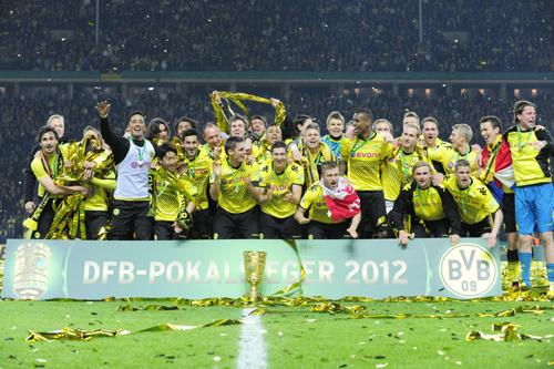 ドイツ杯ベスト8で昨季決勝のバイエルン対ドルトムントが実現