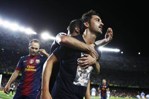 バルセロナのビジャ獲得にプレミアリーグ名門3クラブが意向を示す
